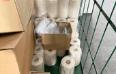 スマート工場の備品のトイレットペーパー