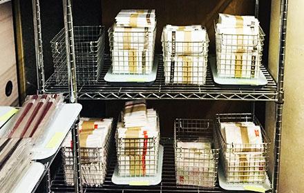 お土産店で販売する在庫もスマートマットで管理