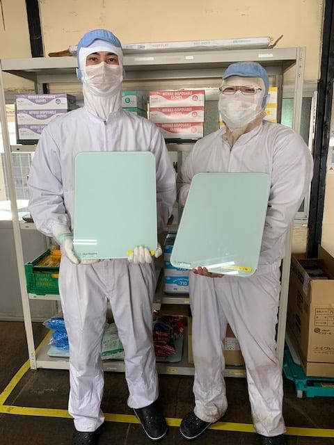 製造工場内で活躍するスマートマットクラウド