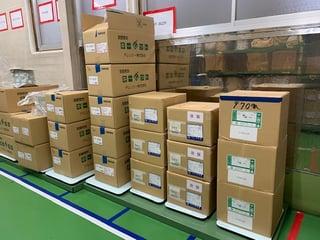 株式会社アヤベ製菓平置き事例