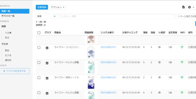 小田光株式会社 管理画面